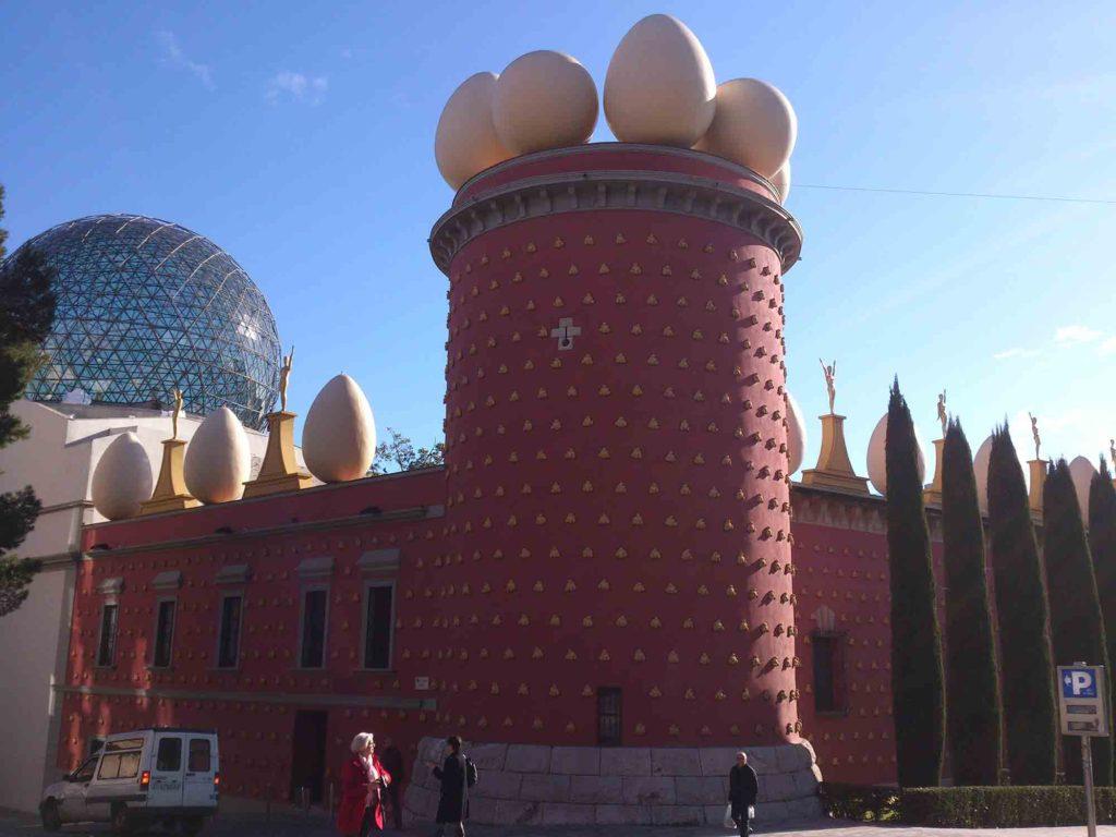 Vista do Museu Salvador Dalí