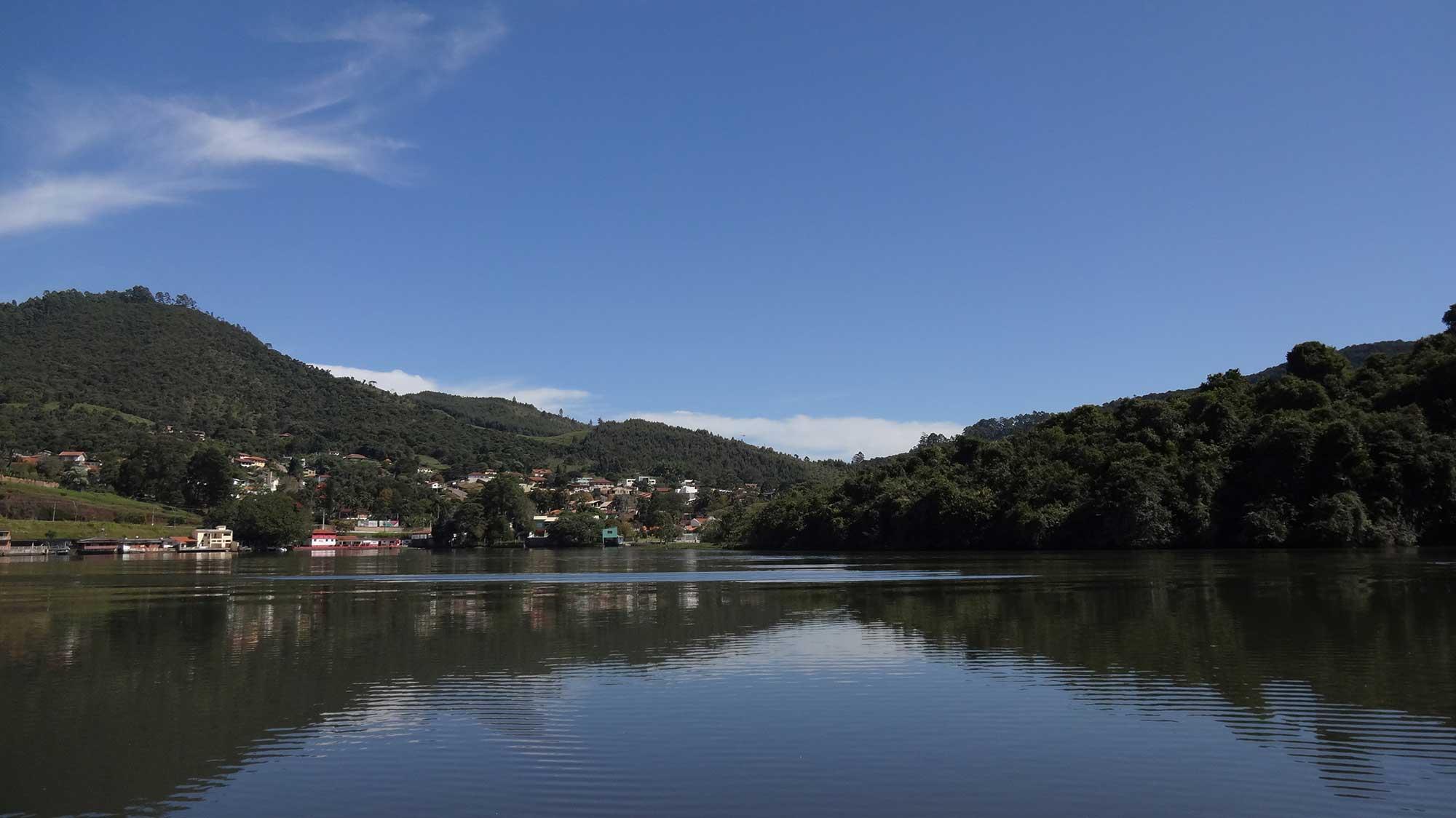 Represa Bortolan - Passeio de Escuna