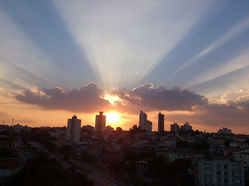 Por de Sol em São Paulo - Parques em SP