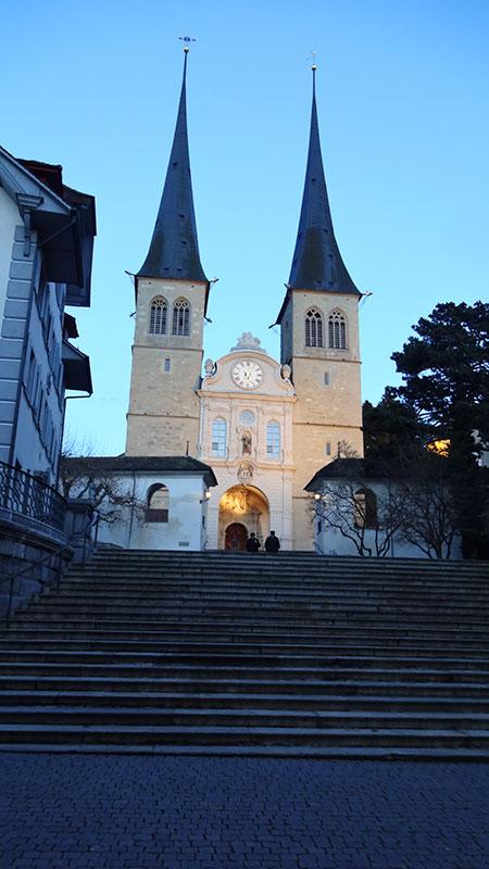Catedral Hof - Lucerna Suíça