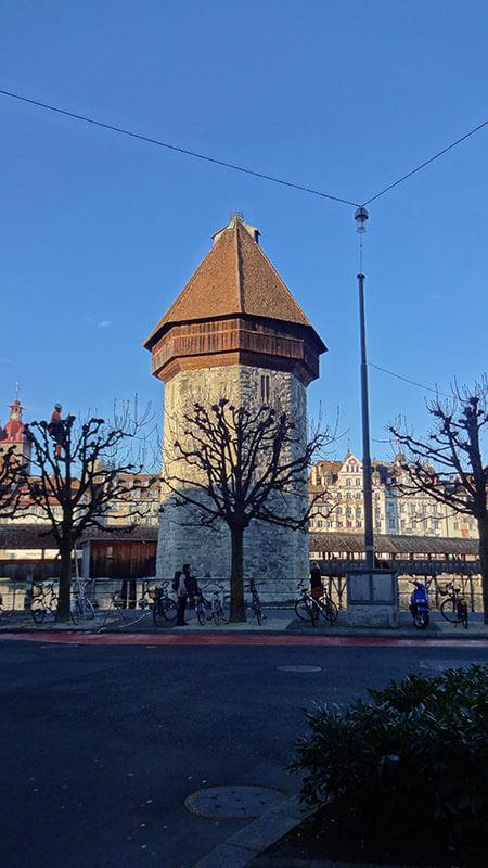 Torre D'água - Lucerna Suíça