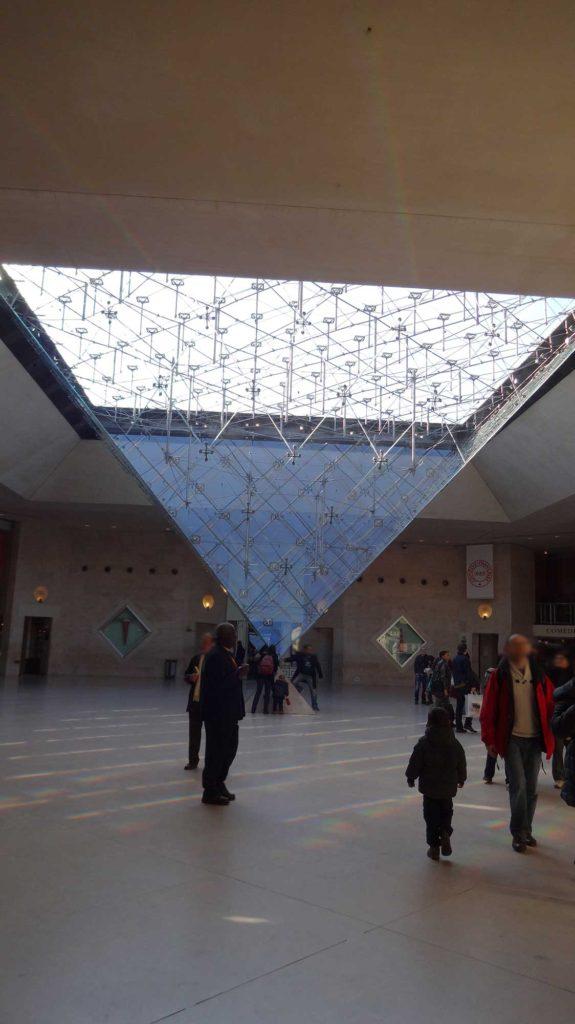 Pirâmide Invertida - Museu do Louvre