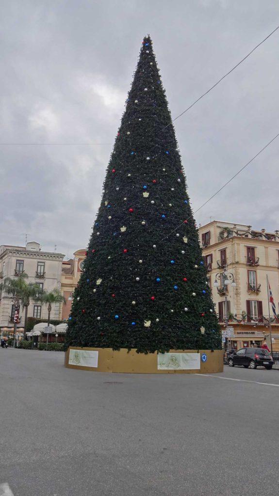 Árvore de Natal - Piazza Tasso