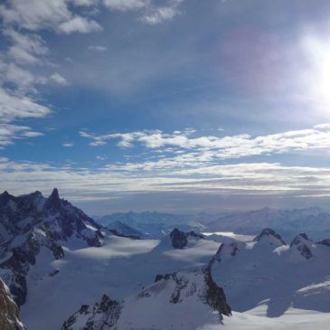 Chamonix Mont Blanc, o monte nevado mais alto da Europa