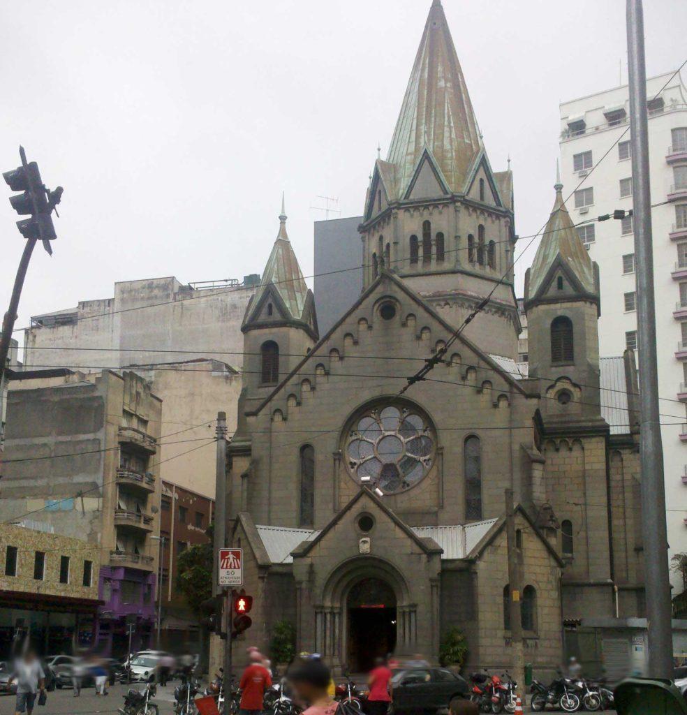 Igreja Santa Efigênia - São Paulo