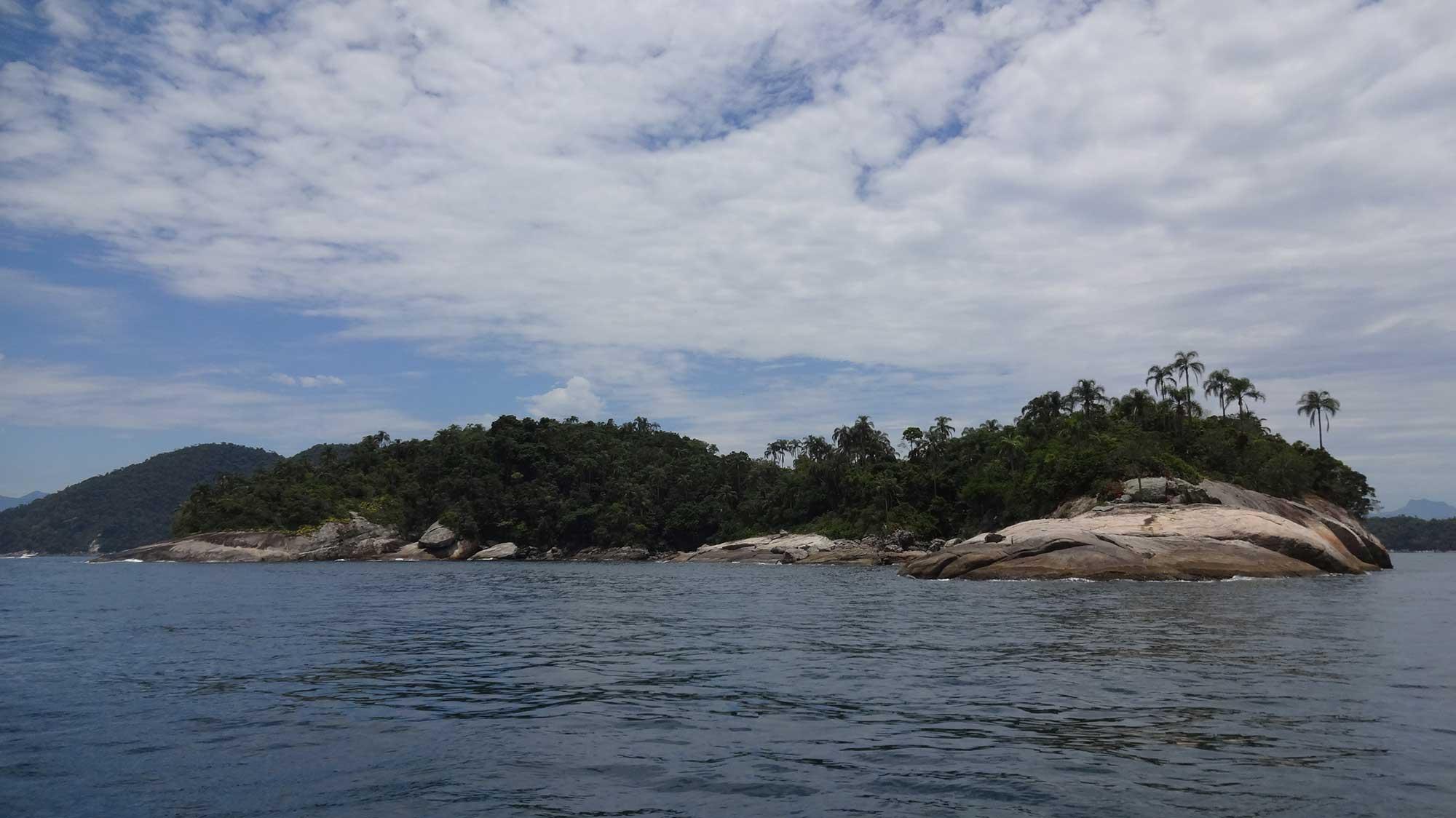 Ilha no Mar de Angra dos Reis