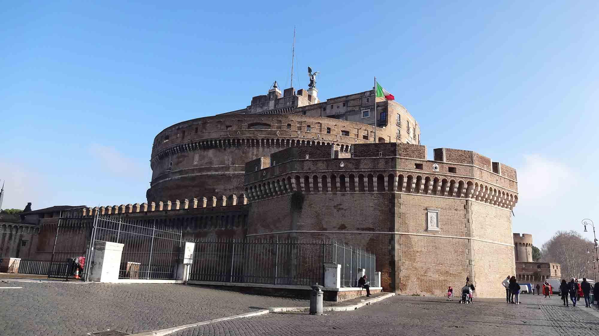 Castelo Sant'Angelo - Turismo em Roma