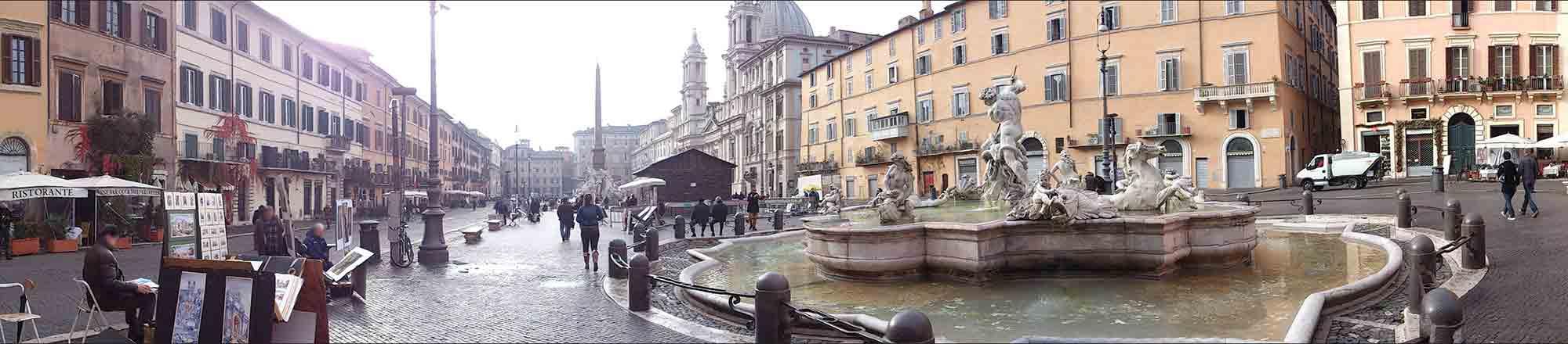 Praça Navona - Turismo em Roma