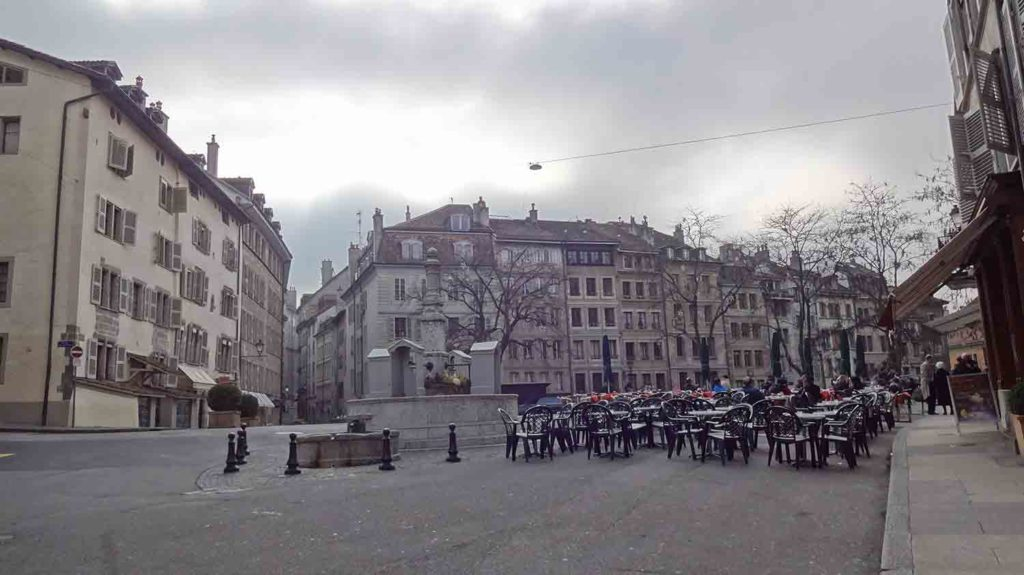 Pelas ruas de Genebra