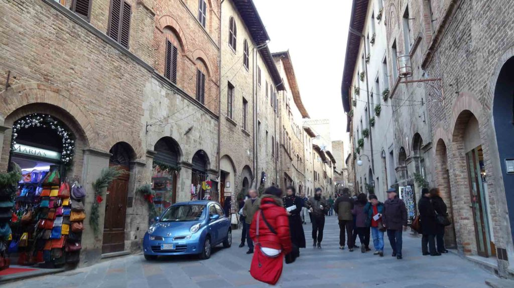 Lojas em San Gimignano