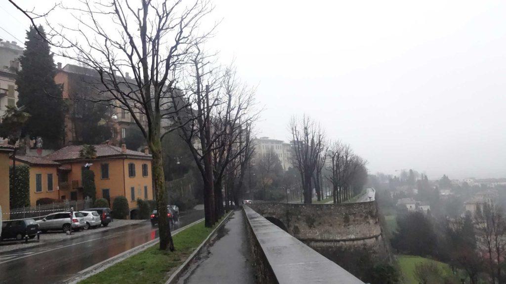 Vista de Bérgamo Baixa