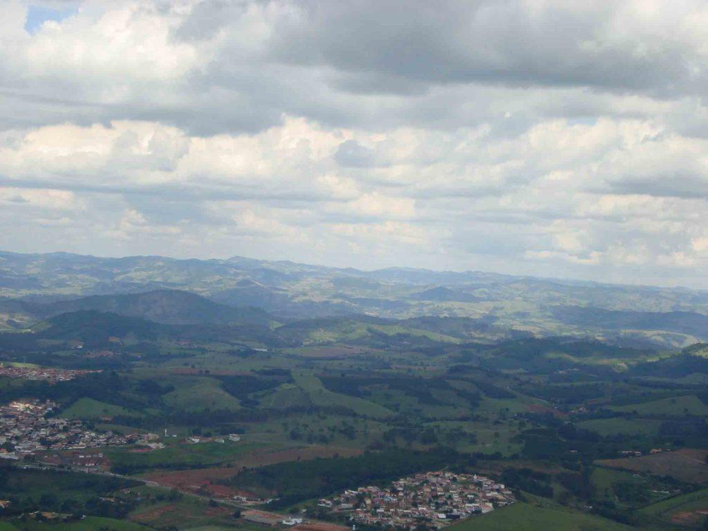 Vista do Alto da Serra - Serra Negra