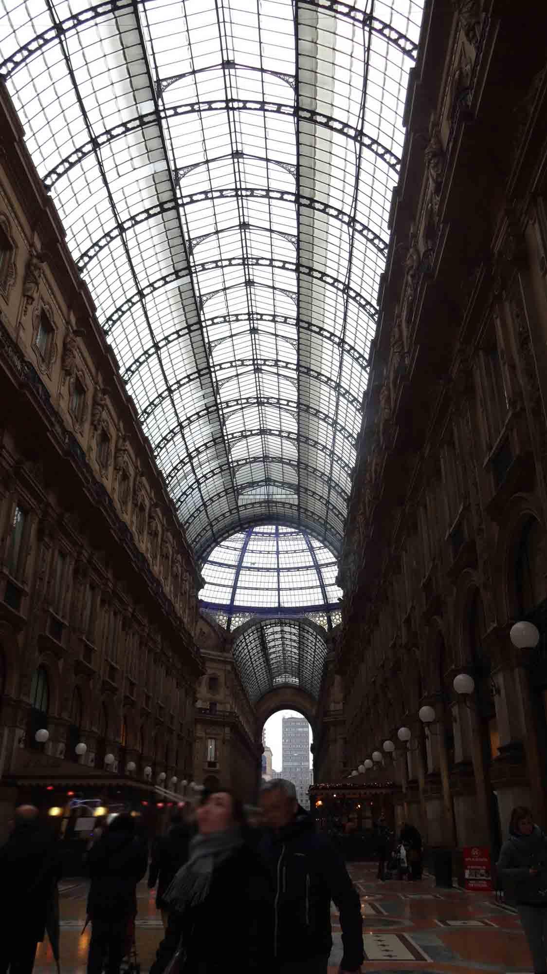 Galeria Vittorio Emanuelle II - Milão