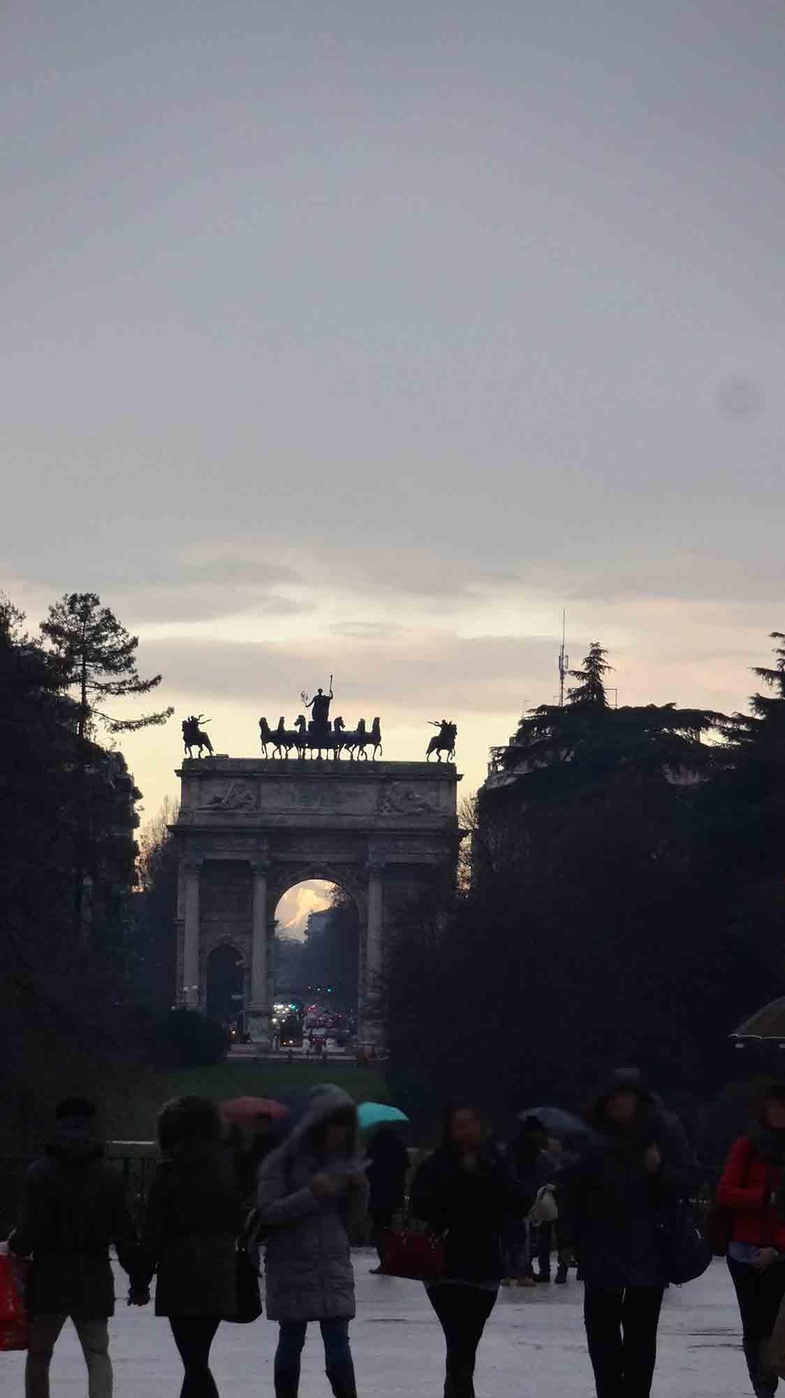 Arco da Paz - Milão