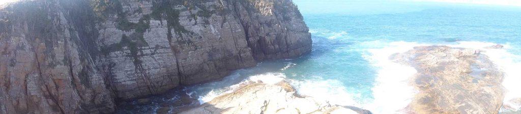 Vista do Morro Praia do Peró