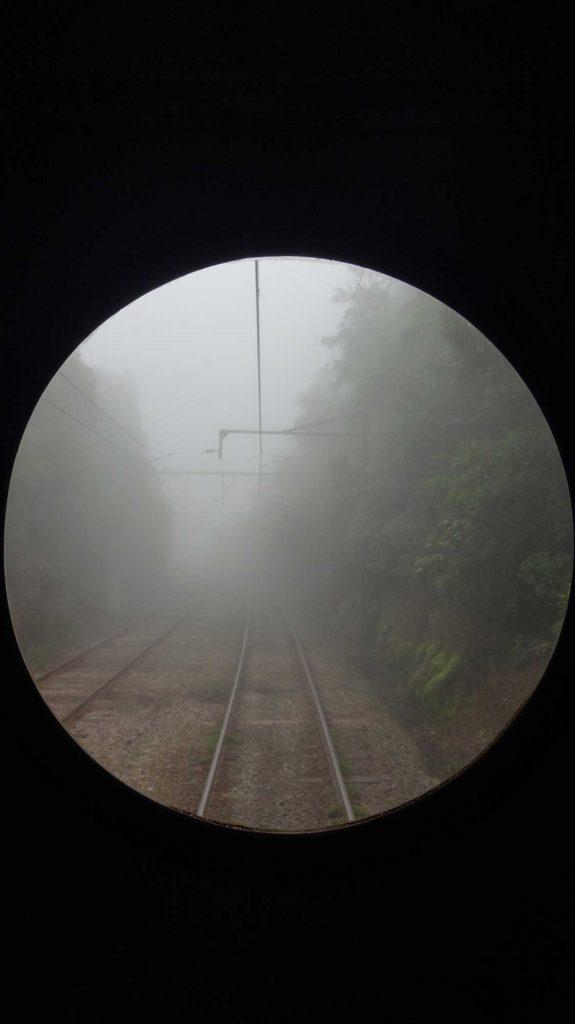 Vista da ferrovia - O que fazer em Paranapiacaba