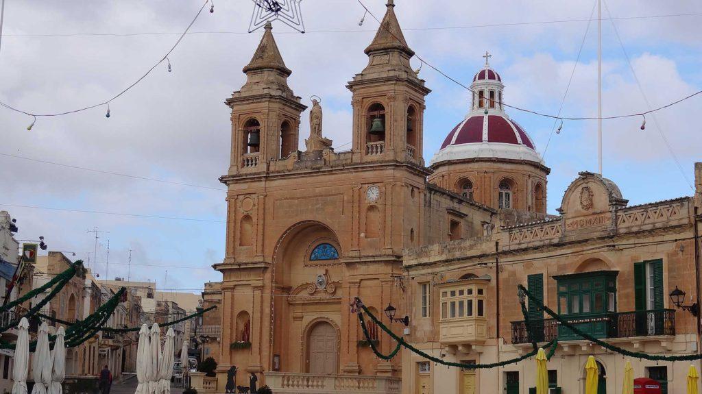 Igreja de Marsaxlokk - Ilha de Malta