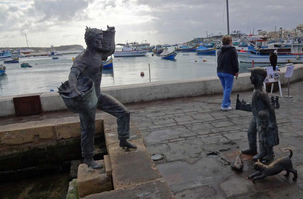 Marsaxlokk - Vila de Pescadores - Ilha de Malta