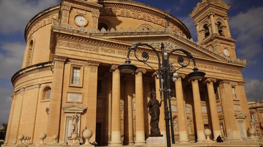 Igreja de Mosta - Mosta - Ilha de Malta