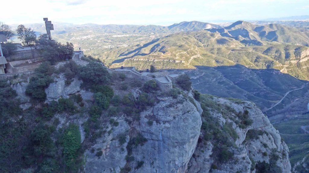 Vista de Catalunha - Montserrat