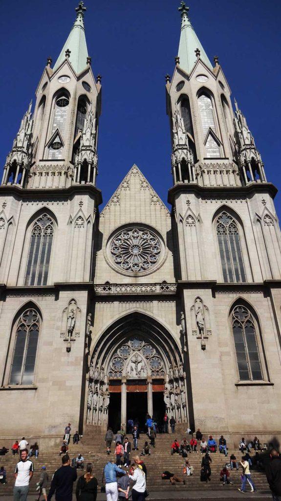 Catedral da Sé - Bike Tour por São Paulo