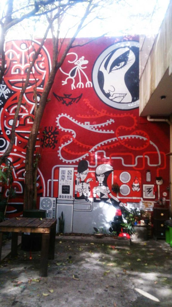 Estúdio de Grafite de Rodrigo Risada - Bike Tour São Paulo