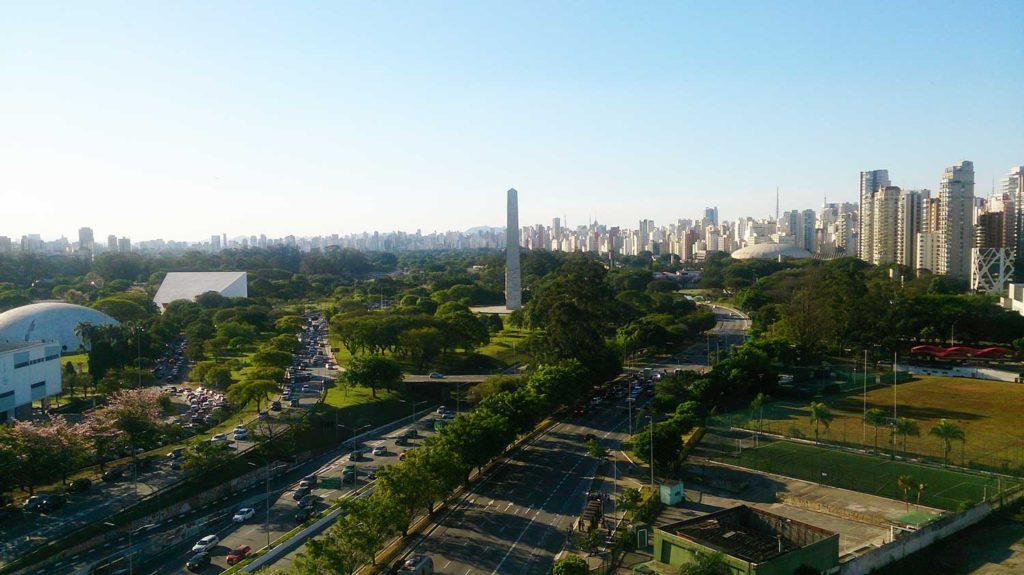 Vista de São Paulo - MAC