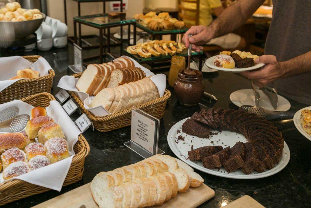 Café da manhã - Vert Hoteis