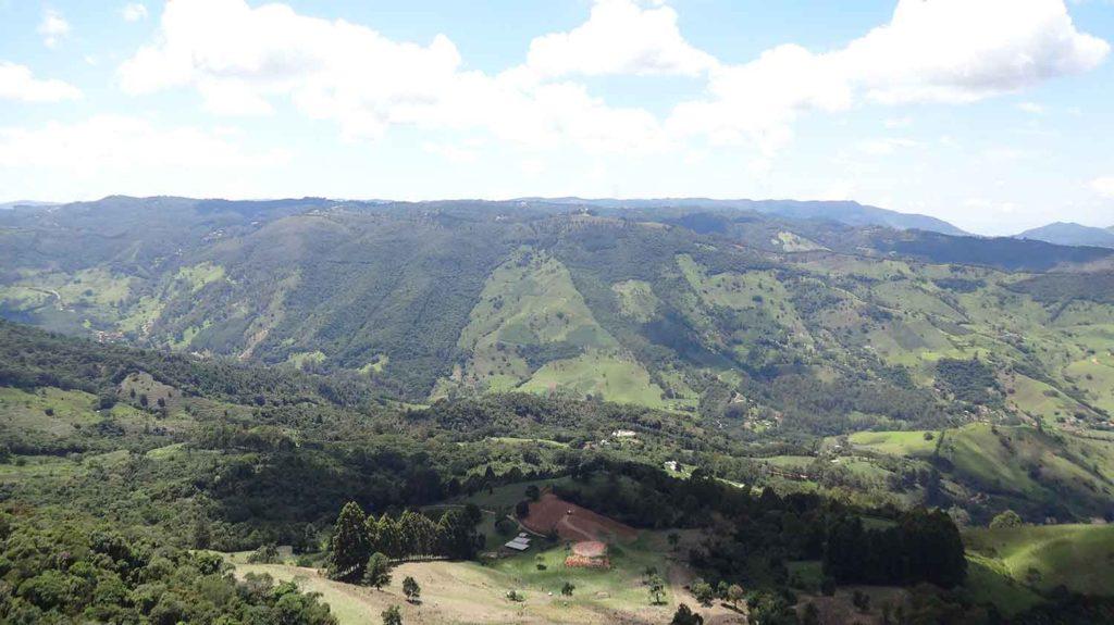 Vista da Pedra Ana Chata