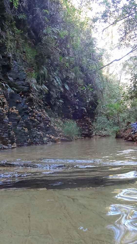 Cachoeira do Poço Dourado - Trilha do Sol