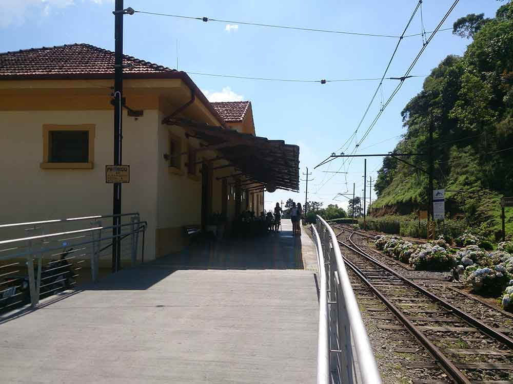 Estação de Ferro Eugênio Lefèvre - Santo Antonio do Pinhal