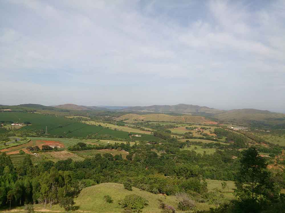 Vista da cidade de Piumhi