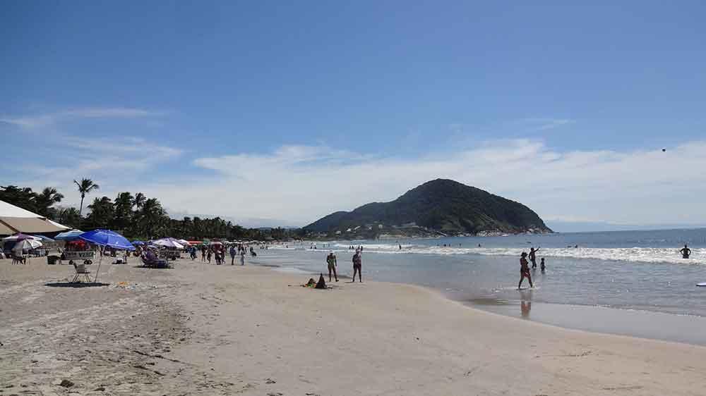 Praias do Guarujá - Praia de Pernambuco