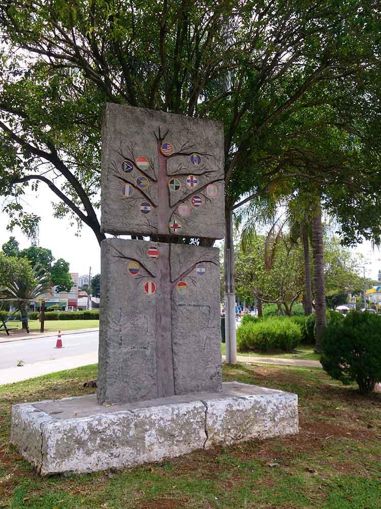 Monumento - Praça Pan Americana