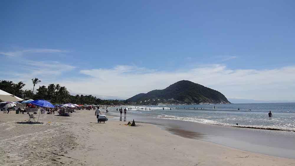Praia de Pernambuco - Guarujá - Praias Brasileiras