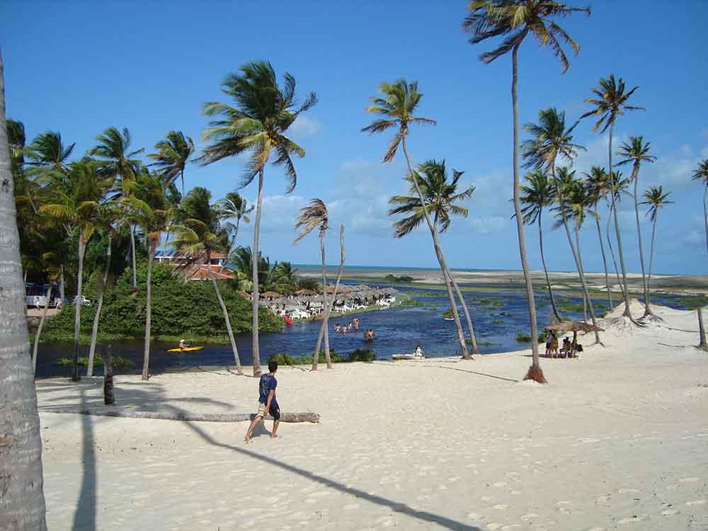 Praia da Barra do Punaú - Rio do Fogo-RN