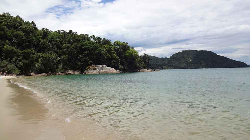Praia de Paraty Mirim - Paraty-RJ