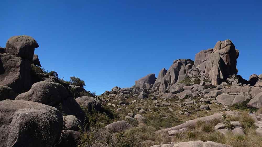 Maciço das Prateleiras - Parque Nacional de Itatiaia