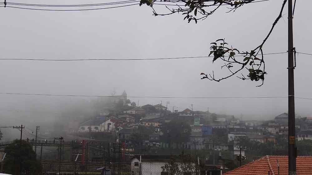 Neblina encobrindo a Vila - Paranapiacaba