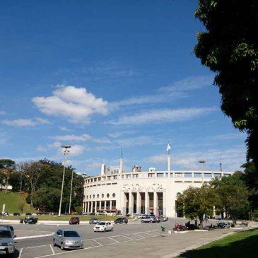 Museu do Futebol no Estádio do Pacaembu em mais um passeio de bicicleta