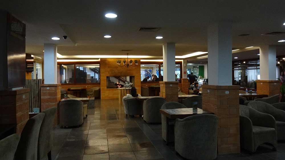 Recepção Hotel Dall'Onder