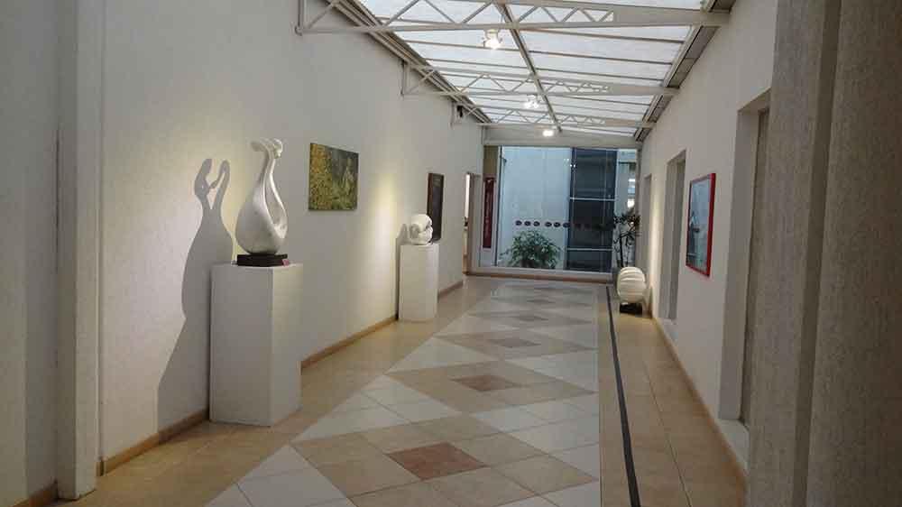 Acesso a Galeria de Lojas - Hotel Dall'Onder