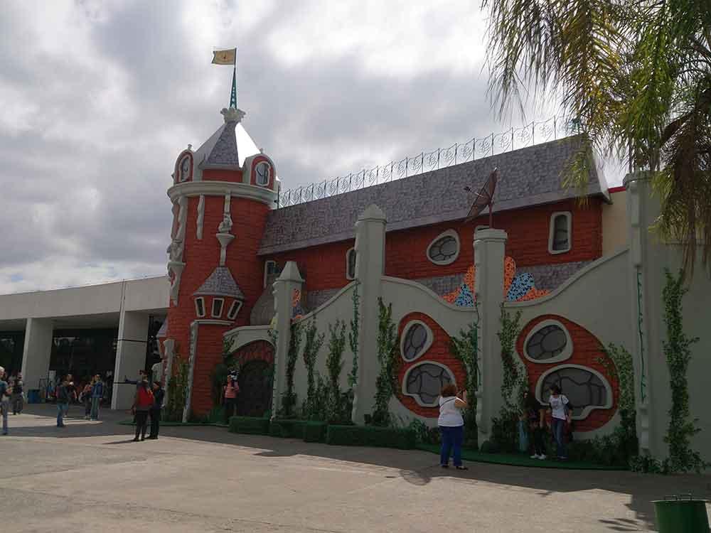 Castelo Rá Tim Bum - Exposição Memorial da América Latina