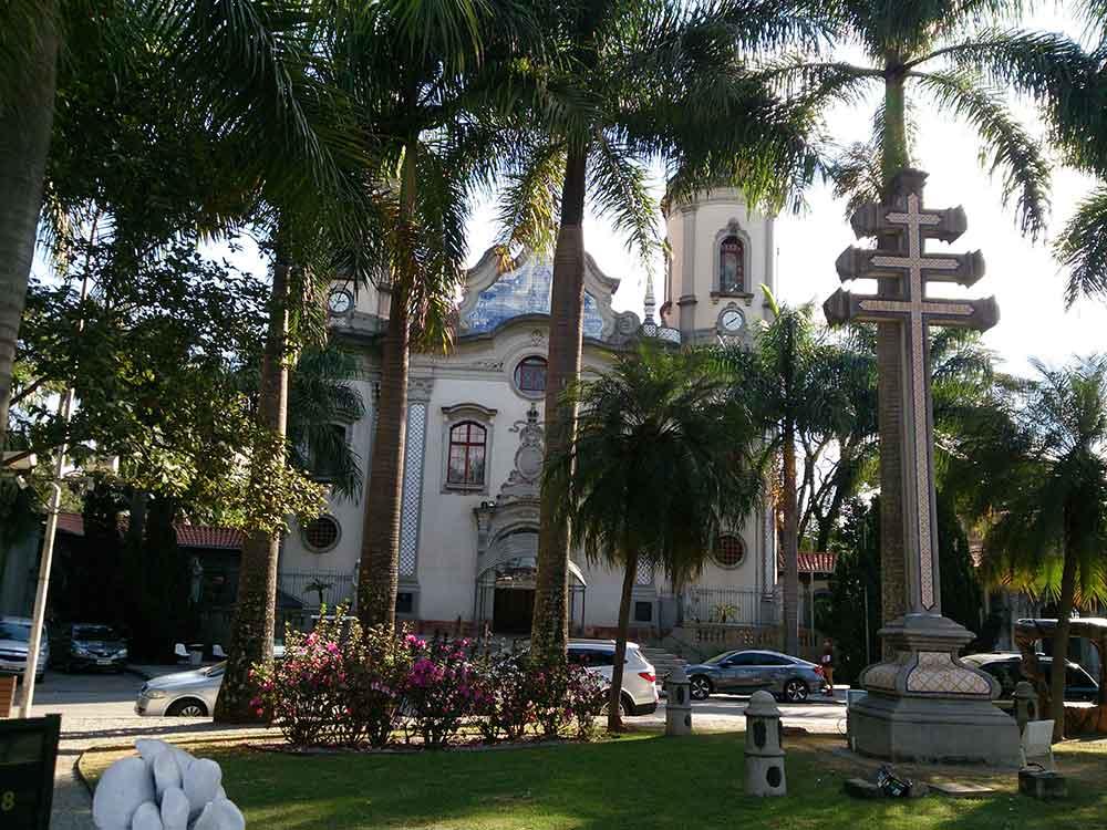 Igreja Nossa. Sra. do Brasil - Cicloturismo na Cidade de São Paulo