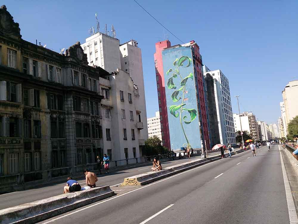 Parque do Minhocão - Cidade de São Paulo