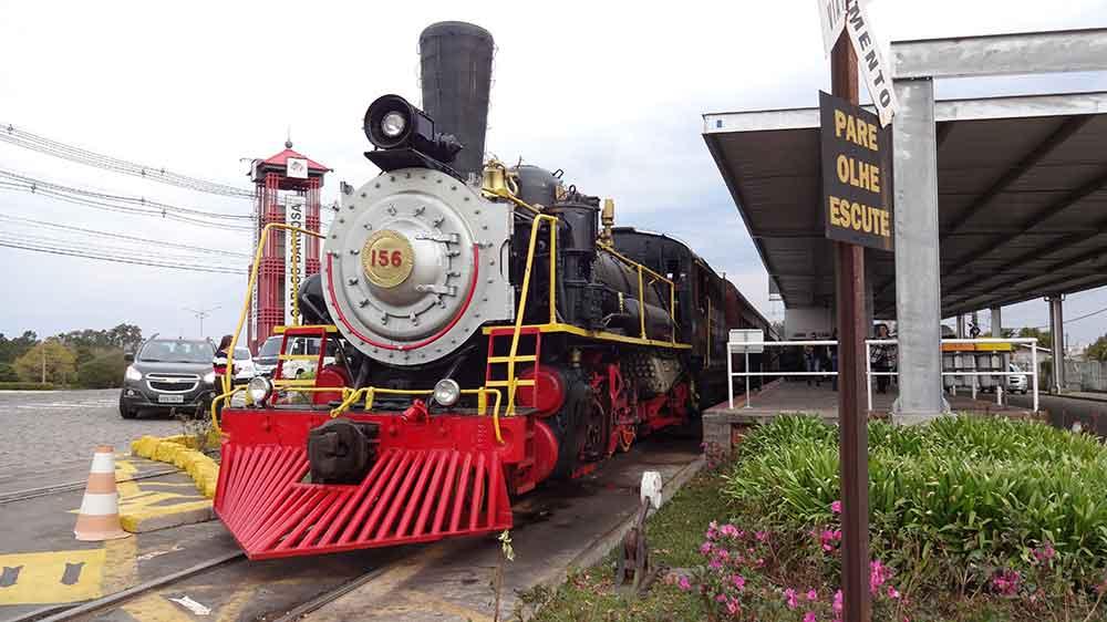 Trem Maria Fumaça - Bento Gonçalves