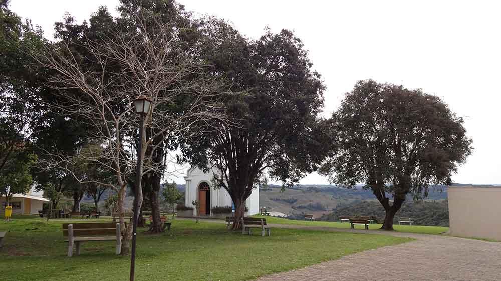 jardins do Santuário Nossa Senhora de Caravaggio