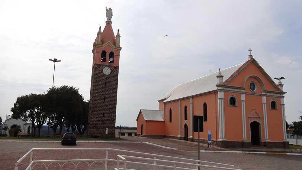 Antigo Santuário Nossa Senhora de Caravaggio e Campanário