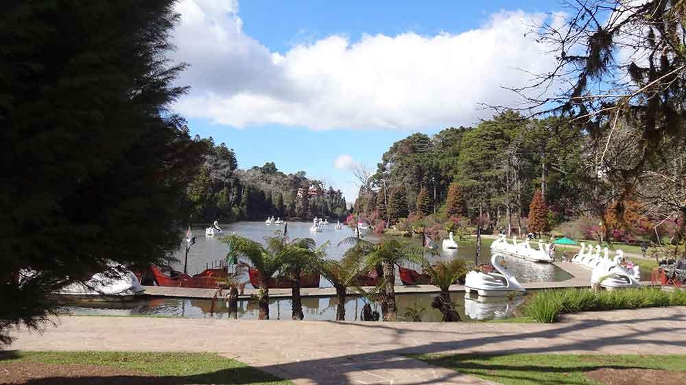 O que fazer em Gramado - Lago Negro