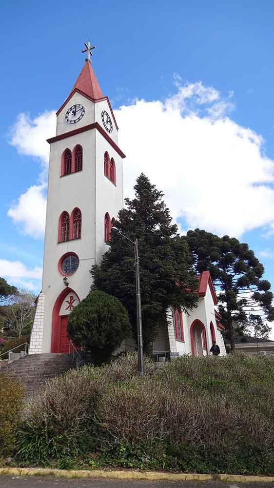 Igreja Luterana - do Relógio